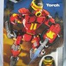 Mega Bloks TORCH Robot Transforming Blok Bots 9338 NIB