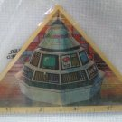 Captain Power Hologram Ruler / ID Tag Vintage MIP