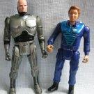 Robocop + Ann Lewis Ultra Police Figures Vintage Kenner 1990