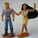 Disney Pocahantas John Smith Figures Polly Pocket
