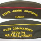 Veterans Of Foreign Wars Uniform Hat Cap VFW  Hawaii 1970