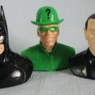 Batman Riddler TwoFace Candy Heads Busts