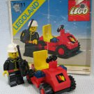 Vintage Lego Fire Chief Car Set 6611