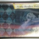 Nearly Headless Nick Harry Potter Holo Foil Trading Card 13/116