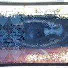 Harry Potter Rubeus Hagrid Holo Foil Trading Card 18/116