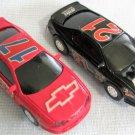 Artin Pair 1:43 Chevy Monte Carlo Slot Race Cars