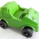 Vintage Tootsie Toy Green Car Jeep 2.5""