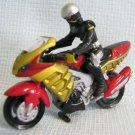 Hot Wheels CW ? Loose Bike and Rider Kikaider Chara Wheels Bandai Kikaida