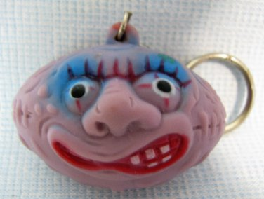 Madballs Football Freaky Squeaky Purple Keychain Knockoff