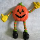 Vintage Halloween Jack-o-Lantern Lapel Pin by Easter Unlimited