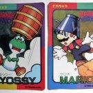Mario & Wario Yossy Yoshi Foil Sticker Cards Nintendo