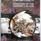 D&D Eberron Whispers of the Vampire's Blade Dungeons and Dragons WOTC
