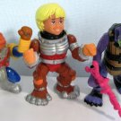 Bucky O'Hare Commander Dogstar + Willy + Al Negator Action Figures - Hasbro