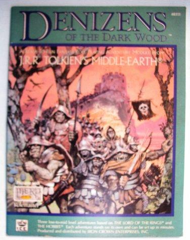 MERP Denizens of the Dark Wood Module #8111 JRR Tolkien LOTR