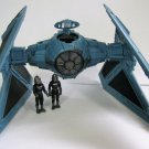 Star Wars Imperial TIE Interceptor + 2 Pilots Galoob Micro Machines