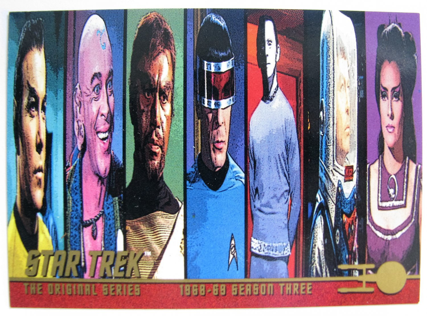 1999 Fleer Skybox Star Trek: The Original Series Season 3 Unnumbered Promo Card