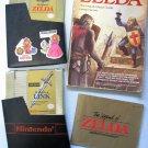The Legend of Zelda + Zelda II: The Adventure of Link NES Nintendo Video Games