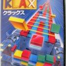 Namcot Klax Sega MegaDrive Video Games Japan Import Genesis