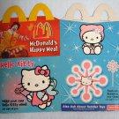 Hello Kitty Transformers Armada McDonalds Happy Meal Box McD