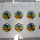 Global Forever SEA SURFACE TEMPERATURES 2014 Stamps Sheet of 10