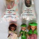 5 Madame Alexander Dolls McDonalds Happy Meal Toys 2005