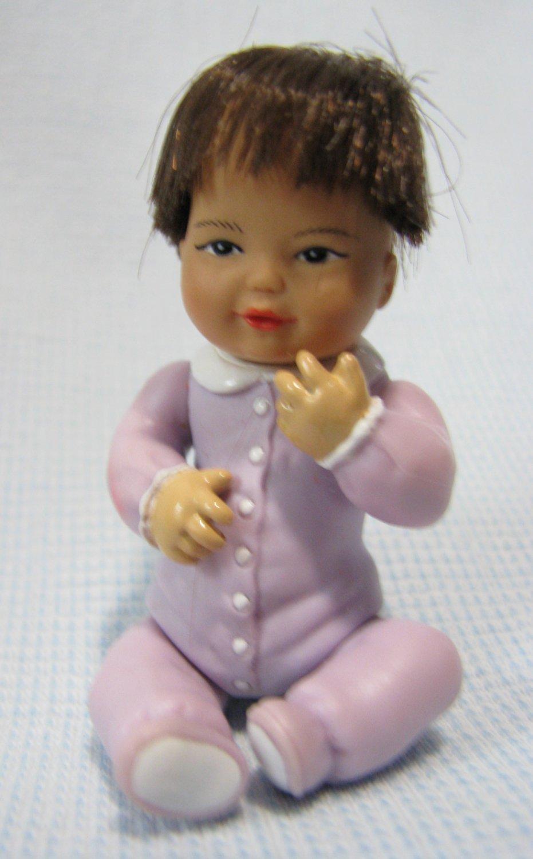 Tiny Blessing Lee Ann Asian Baby Doll Bandai 1987