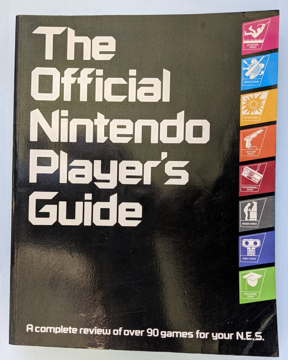 Nintendo The Official Nintendo Player's Guide Strategy Book 1987 N64