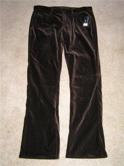 Ralph Lauren Brown Velvet Pants