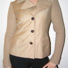 ANNE KLEIN Cashmere Wool Camel Jacket