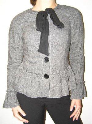 Teri Jon Sport Gray Wool Jacket