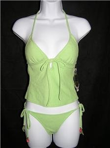 Juicy Couture Halter Cami Tankini (Size P)