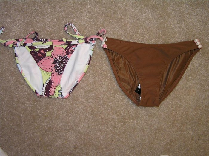 ViX by Paula Hermanny 2-Bikini Bottoms (Size S)