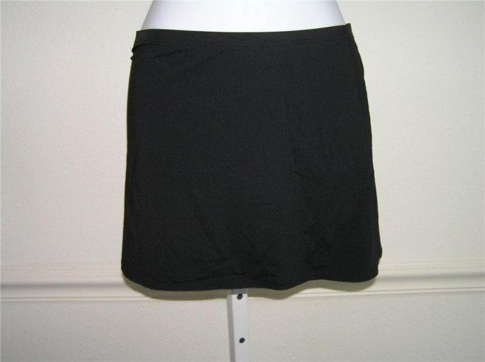 Calvin Klein Pull-on Black Beach Skirt