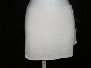Calvin Klein Coverup White Beach Skirt