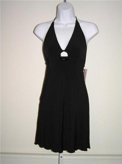 Tina C Beach Black Dress (Size 1)