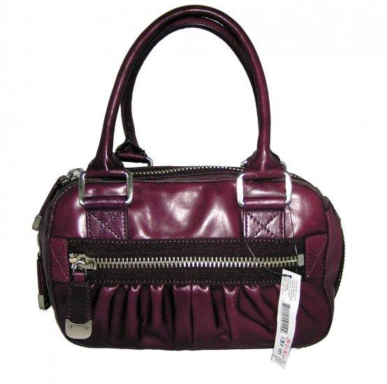 DKNY Donna Karan Antique Satchel Berry Handbag Bag