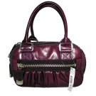 DKNY Donna Karan Antique Satchel Berry Handbag Bag