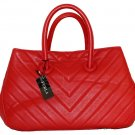 FURLA Giselle Quilted Leather Medium Tote Handbag