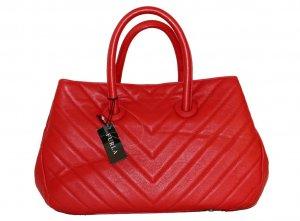 FURLA Giselle Quilted Leather Medium Tote Handbag