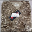 Digital Camo BDU Jacket Shirt Desert Large New NIB
