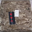 Digital Camo BDU Pants Desert Large New NIB