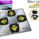 ENERGY metal dance pad with recessed buttons for PS, PS2, Xbox, Wii, PC