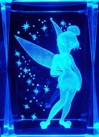 Tinker Bell Star Crystal + Free Light Stand SM