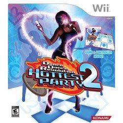 DDR Hottest Party 2 Original Bundle for Nintendo Wii