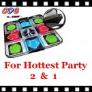 V2 Deluxe Foam DDR Dance Pad for Wii Hottest Party 3, 2, 1