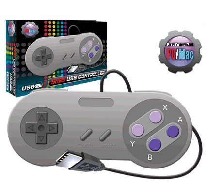 SNES USB Controller Style for PC Computer Window or MAC