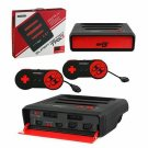 Super Retro Trio 3in1 NES/SNES/Sega Genesis Video Game System Black