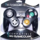 Black Third Party Classic Gamecube Controller Gamepad for GameCube Wii