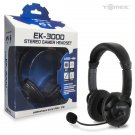Playstation3 PS3 EK-3000 Stereo USB Gamer Headset New