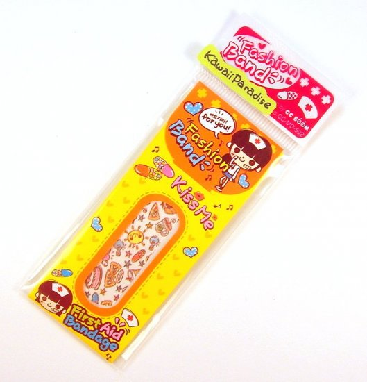 1 case kawaii FASION BAND AID bandaid food snack cake heart 4
